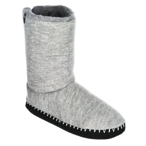ANIMAL WOMENS SLIPPERS BOOTS.BOLLO GREY TEXTILE FAUX FUR LINED BOOTIE 7W 309 E96